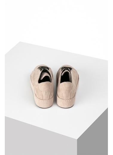 Pier Lucci Hakiki Deri Ayakkabı Vizon